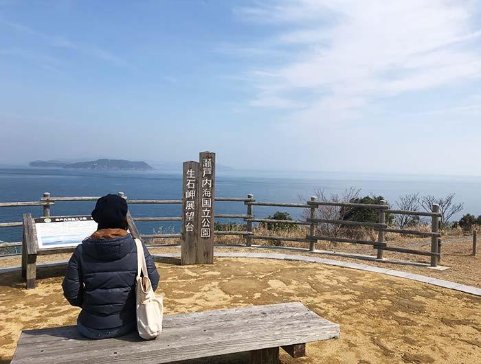 生石岬展望台からの絶景