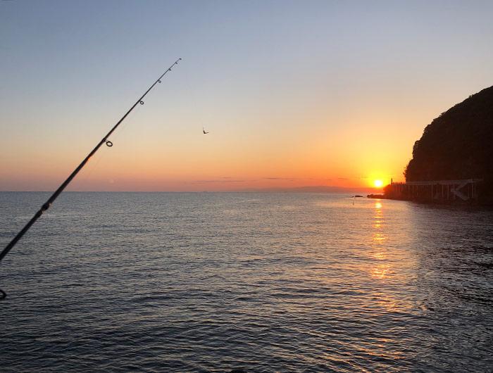 淡路島の朝日