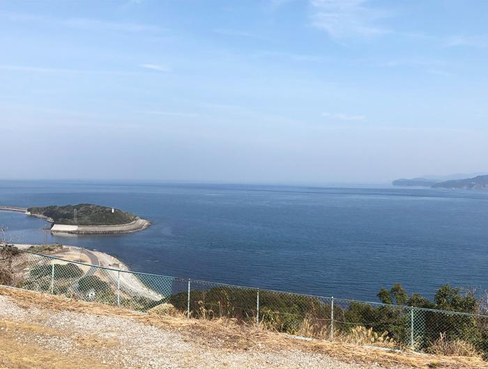 淡路島 生石岬展望台からの眺望