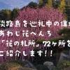 淡路島の花観光ならココ!あわじ花へんろ巡礼中の僕が、「花の札所」全72ヶ所をご紹介