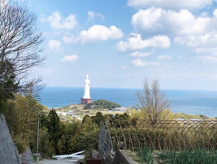 妙勝寺からの海の眺め