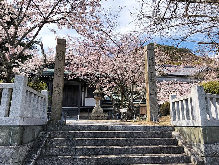 圓城寺の入り口
