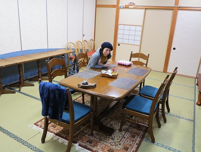 淡波家の個室スペース