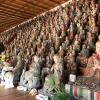 淡路島・蓮花寺を花へんろ観光。「五百羅漢」は見応え十分でした〜😙