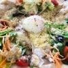 旬野菜をたっぷり使った香ばしガレット