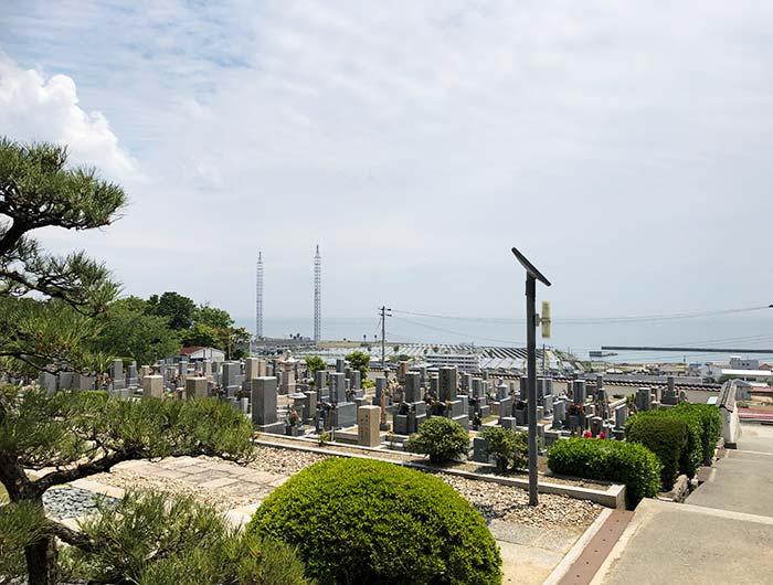 本福寺水御堂からの眺め