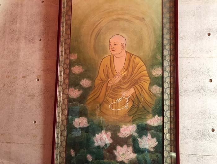 本福寺水御堂 弘法大師画像