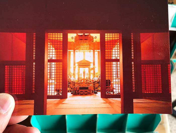 本福寺水御堂 ポストカード