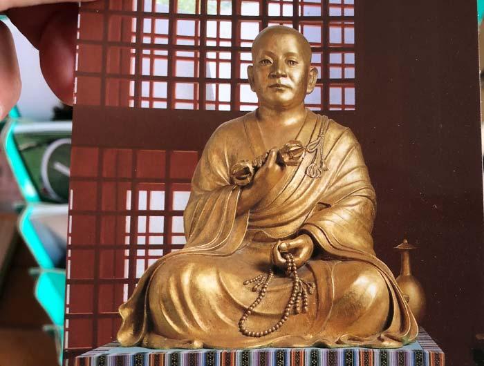 本福寺水御堂 弘法大師坐像ポストカード