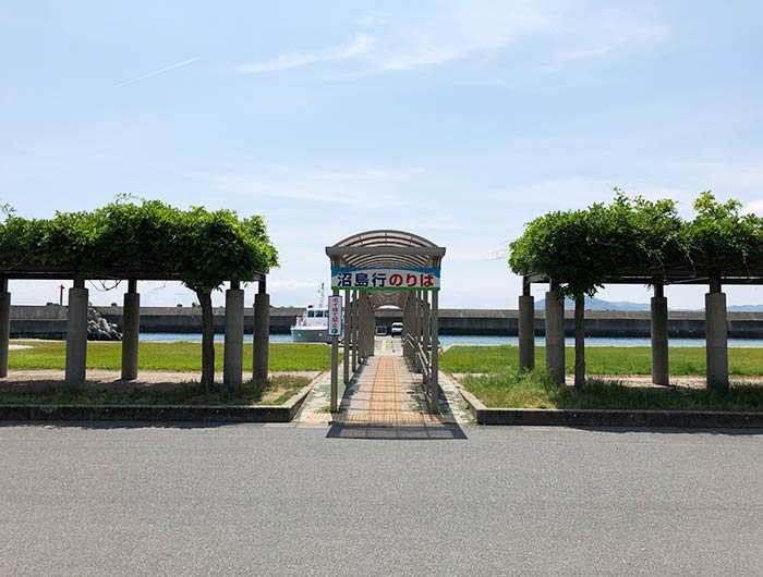 灘ターミナルセンター 船乗り場