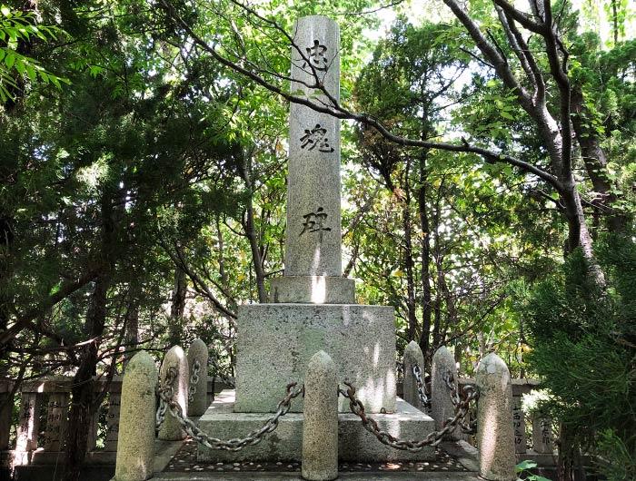 沼島 忠魂碑