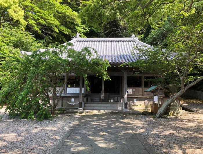 沼島八幡神社 拝殿