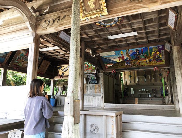 沼島八幡神社 参拝