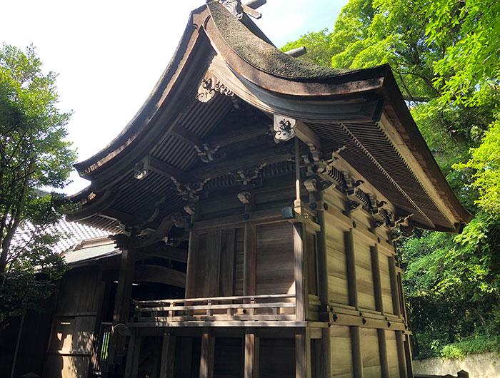 沼島八幡神社 本殿