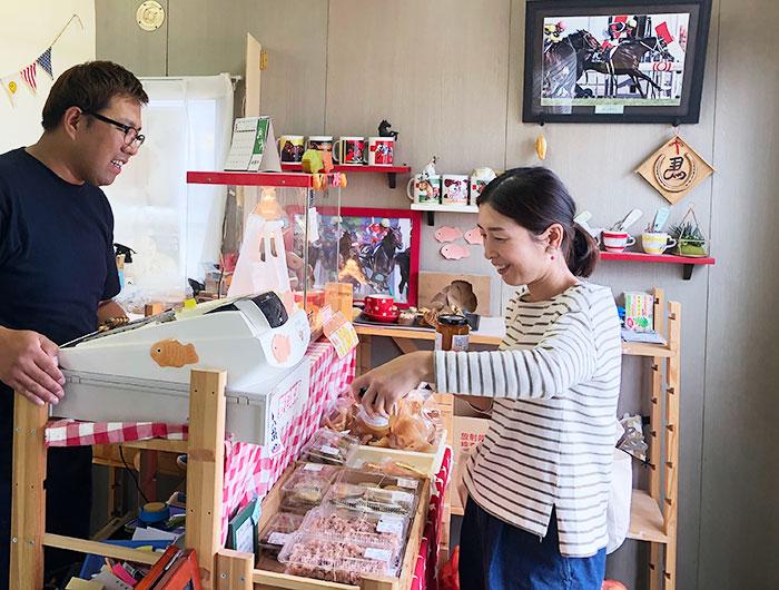 野口製菓 店内の様子
