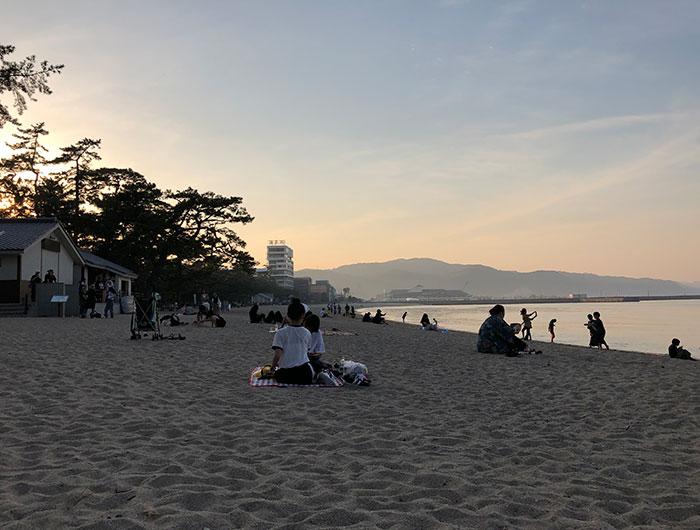 うみぞら映画祭2019 大浜海岸