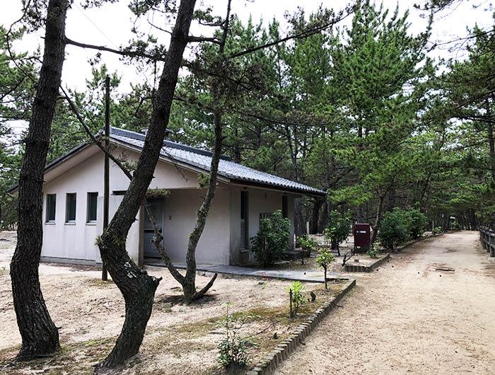 慶野松原・トイレ