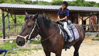 シェアホースアイランドで乗馬体験