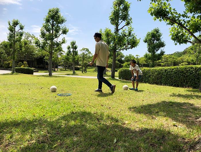 淡路ふれあい公園 芝生広場