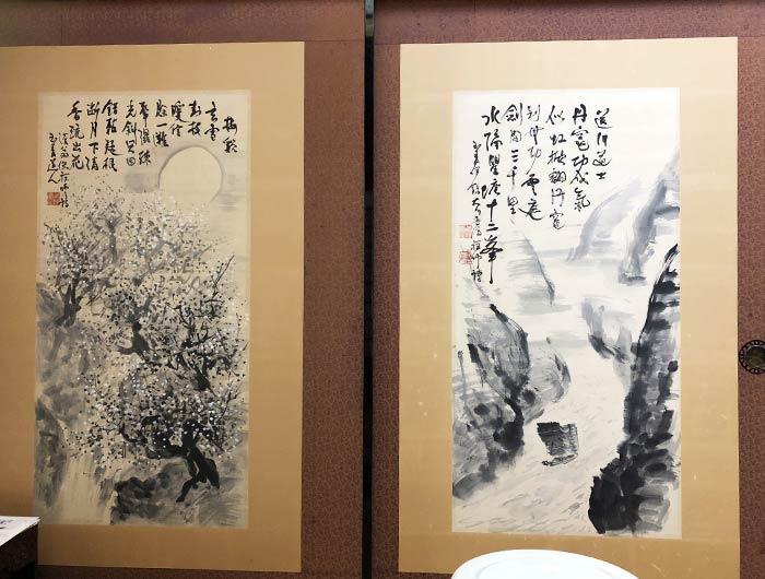 国清禅寺 江湖風月集の襖絵