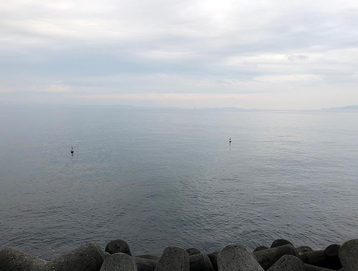 淡路島 志筑の海