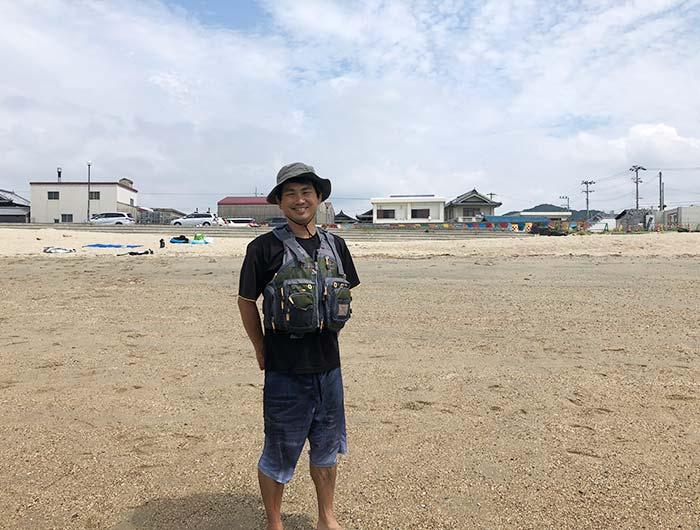 淡路島カヤック教室の川上さん