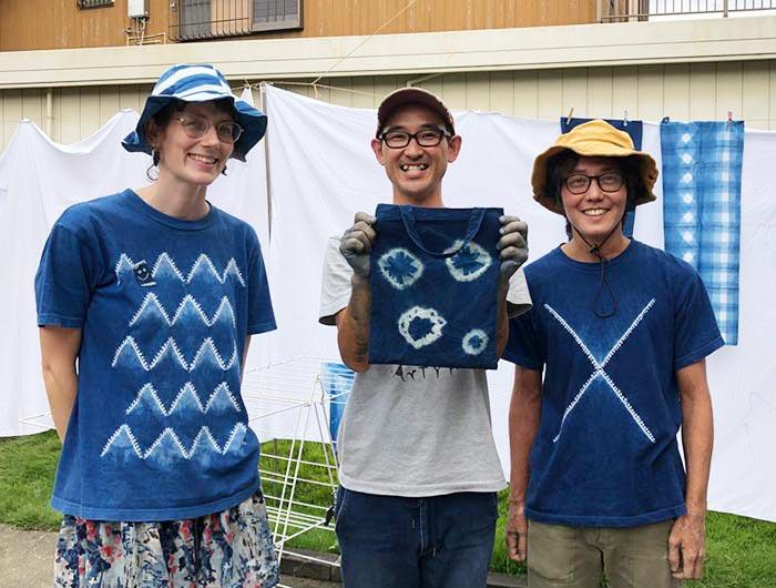 藍藍ー(AiAii)の二人と記念撮影
