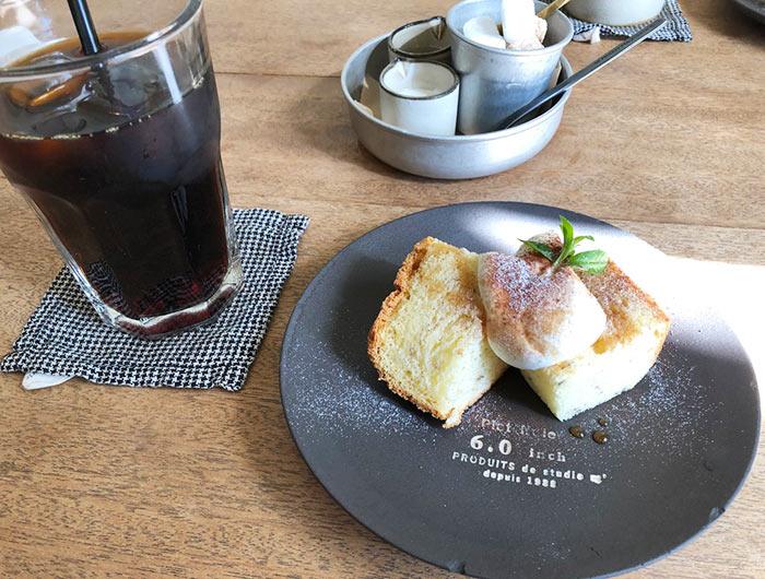小空カフェ(kozoracafe house)のケーキセット
