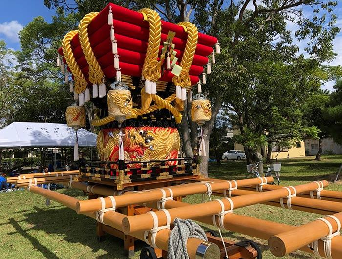 松帆神社のお神輿