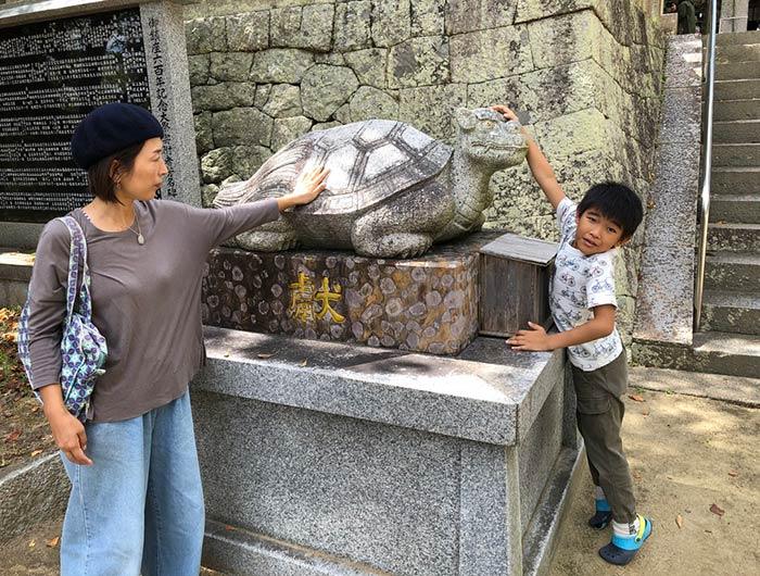 松帆神社の贔屓(ひいき)