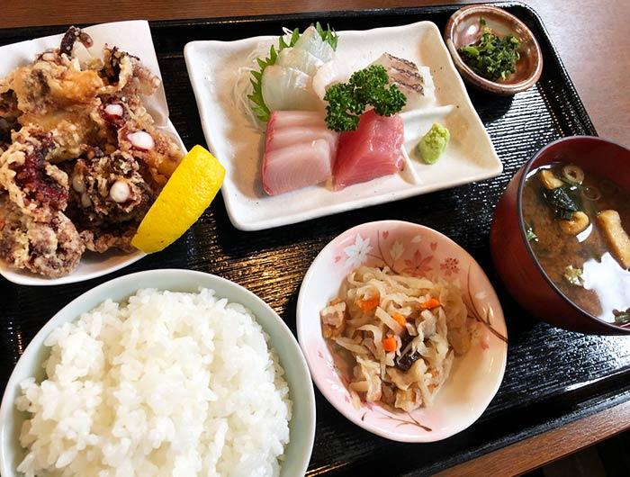 魚増(うおます)定食