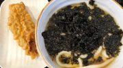 淡路島・淡家(三原店)が新メニュー続々❗️黒ばらのりうどん、美味しかったよ😁100円アイスクリームは継続中