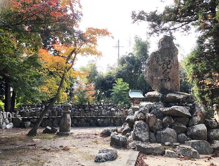 成相寺の紅葉の様子