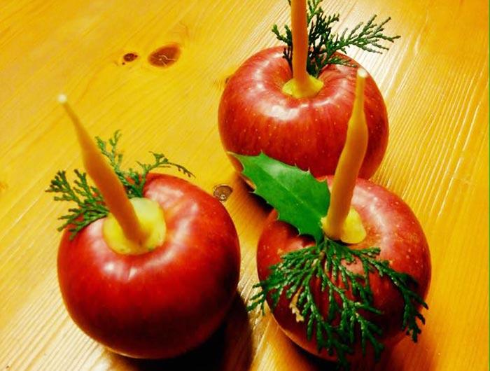 りんごろうそく