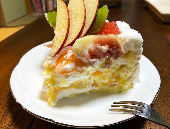 マロウのケーキ