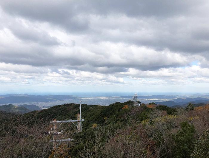 諭鶴羽山からの眺望