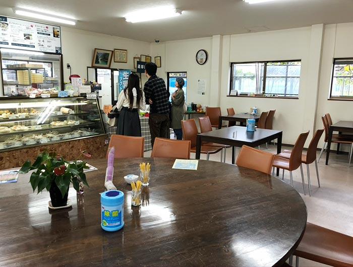 カフェ果の実 店内の様子