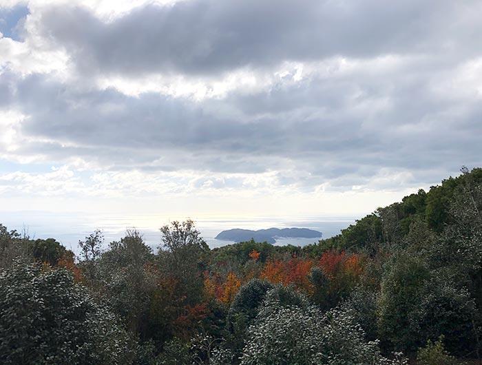 天の浮橋遥拝所からの眺め