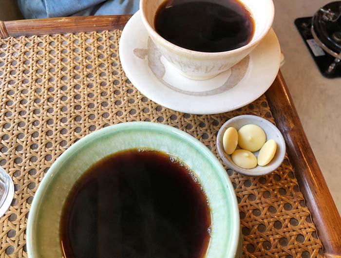 サインズ&キャンプのコーヒー