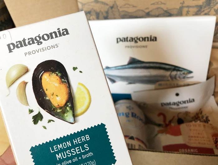 パタゴニアの食料品