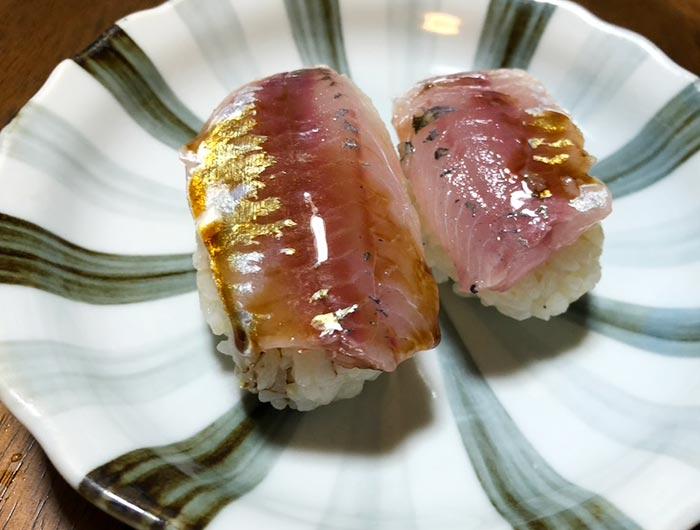 アジのお寿司