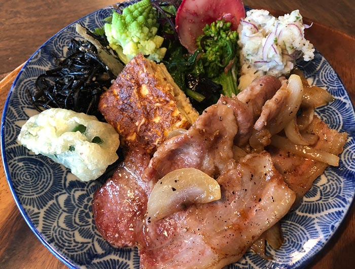 豚のしょうが焼き定食