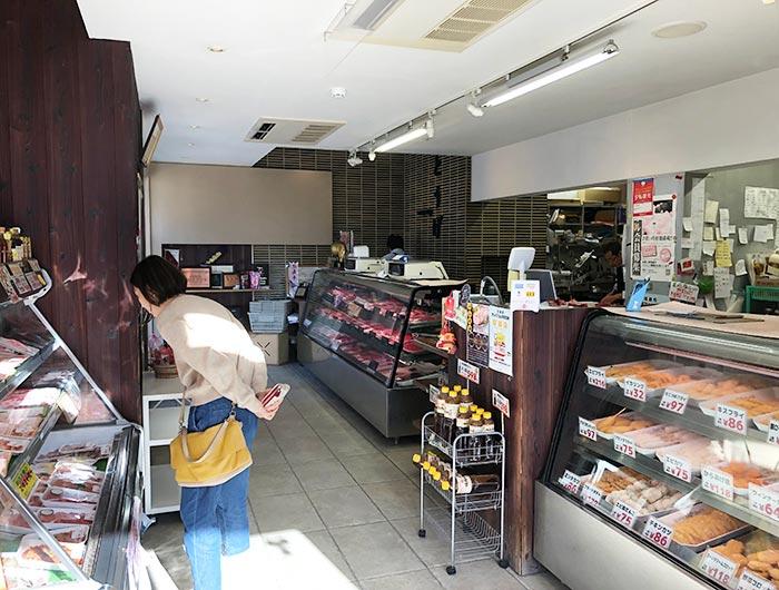 淡路ビーフ とうげの店内の様子