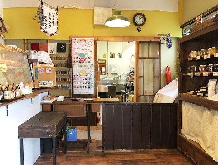 淡路島・山田屋の店内の様子