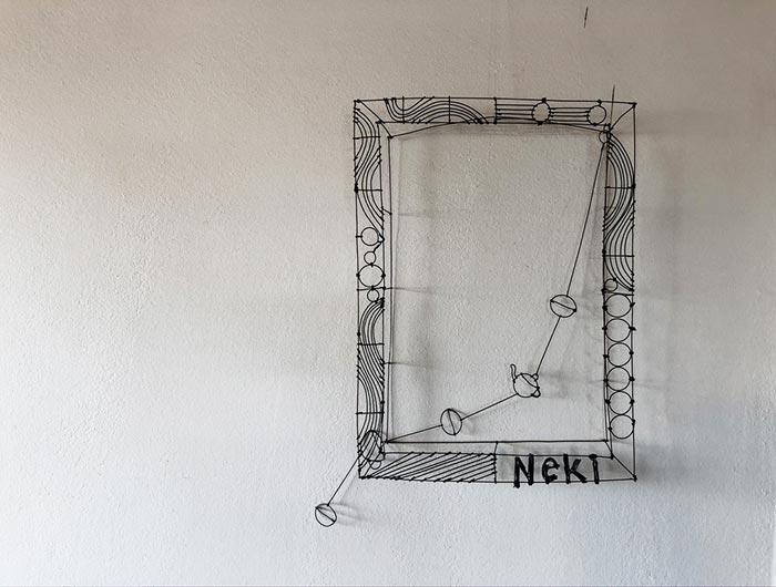NeKiの額縁