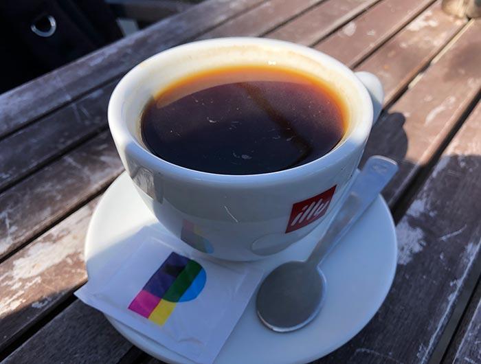 チルコロのコーヒー