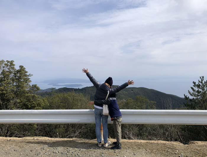 柏原山の絶景ポイント(山上より遠望)