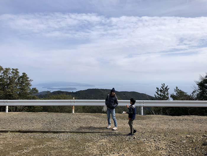 柏原山の絶景ポイント