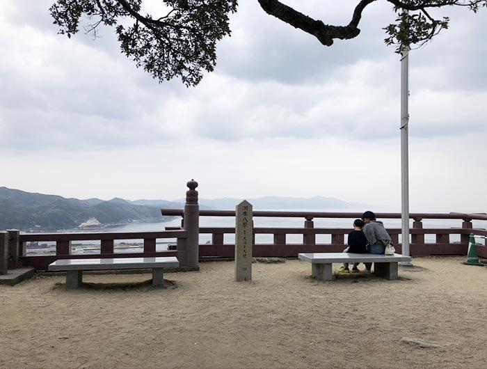 洲本八景1:大浜を大観