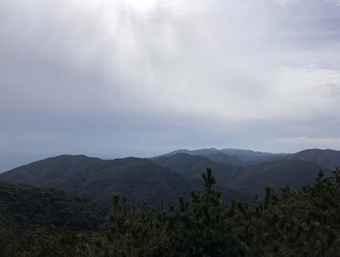 柏原山からの眺望